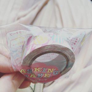 サーティーワンマスキングテープ