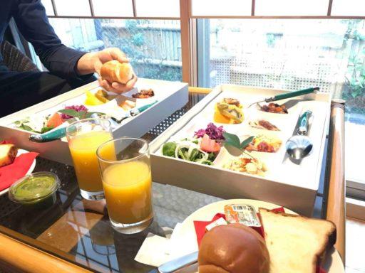 京都嵐山嵯峨野ホテル椛の朝食
